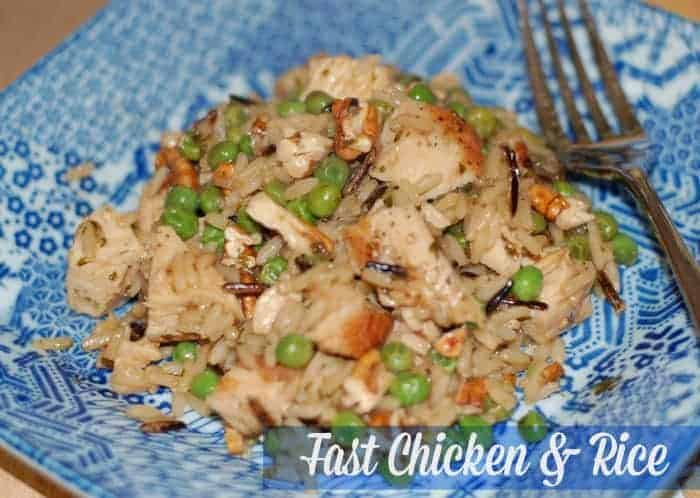 Fast Chicken and Rice