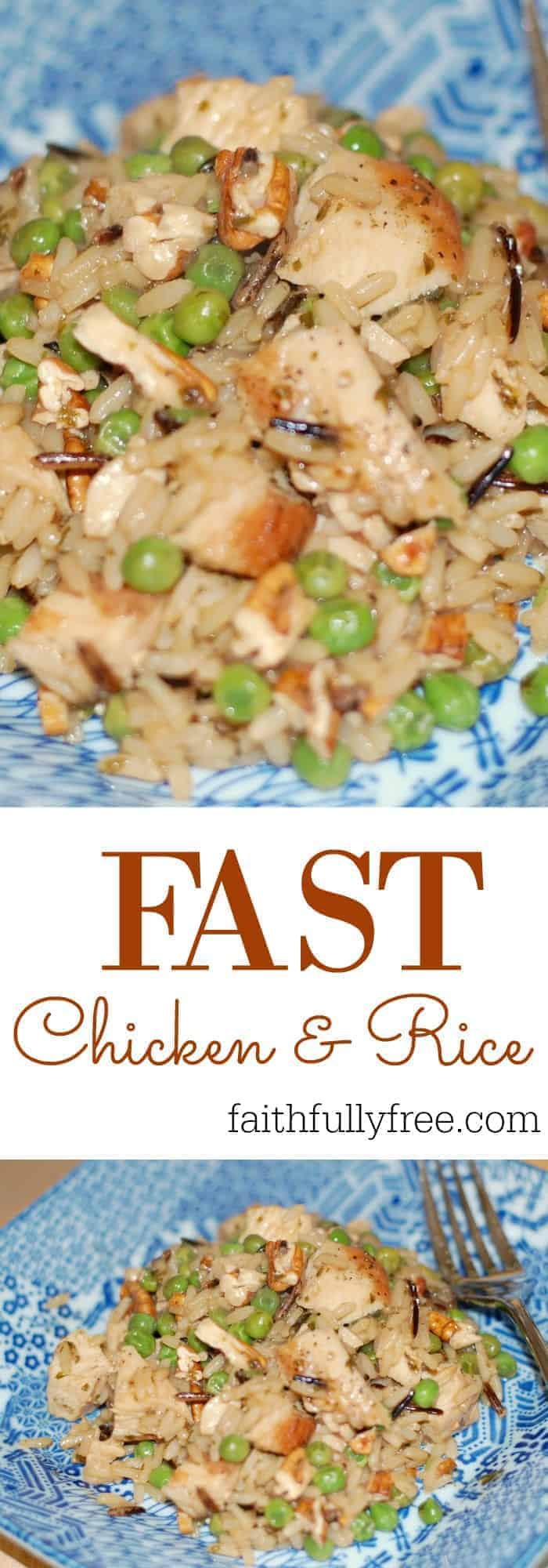Super Fast Chicken and Rice