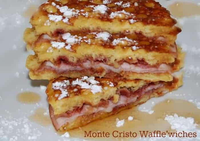 Monte Cristo Wafflewiches are perfect for any brunch!