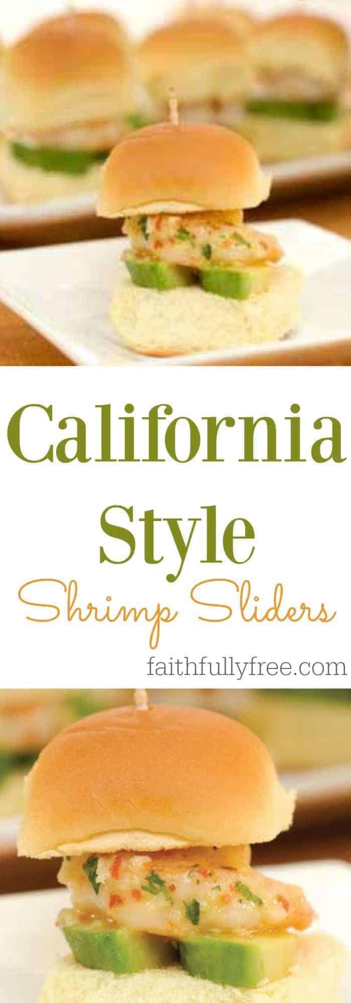 Must Try California Style Shrimp Sliders