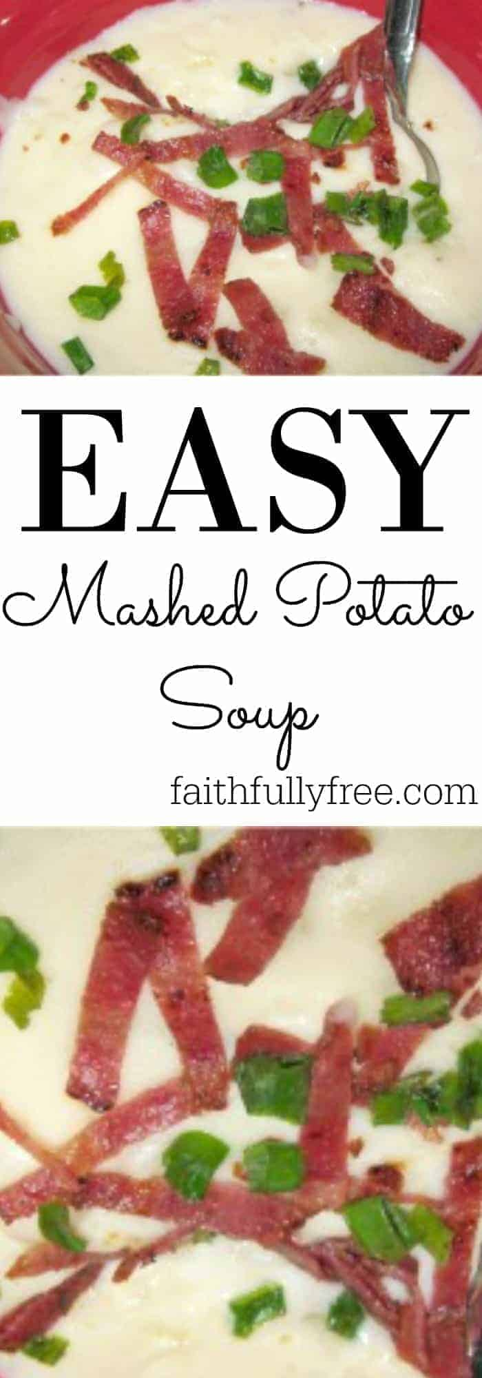 Easy Mashed Potato Soup