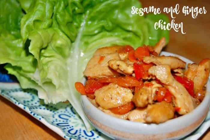 Sesame and Ginger Chicken