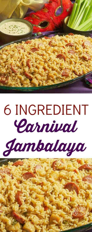6 Ingredient Carnival Jambalaya