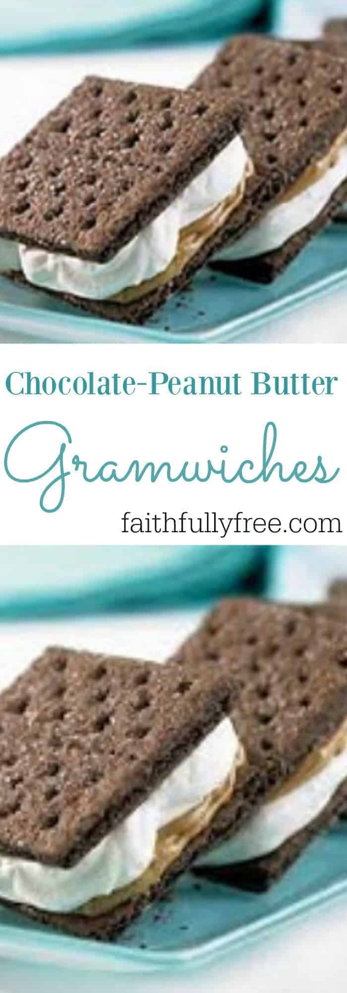 Biggest Loser Chocolate Peanut Butter Gramwiches