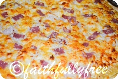 Easy turkey club pizza recipe