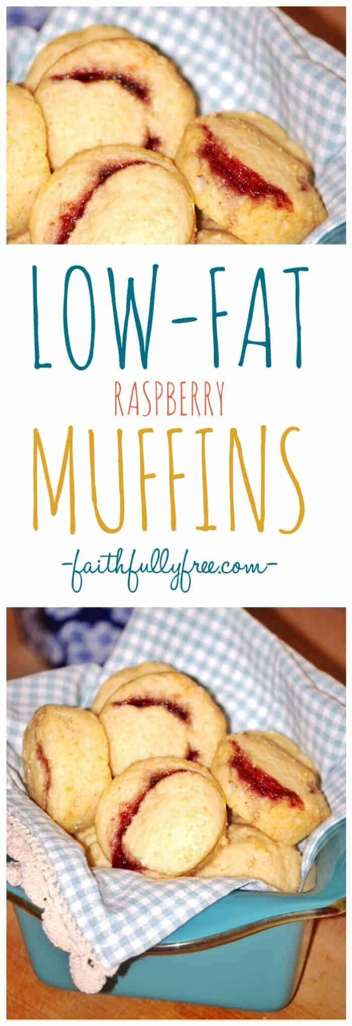 Low-fat Raspberry Muffins Recipe