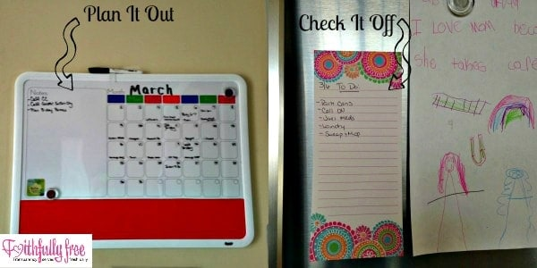 easy ways to jump-start your day : make a plan