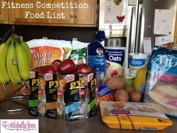 fitness-competition-food-list