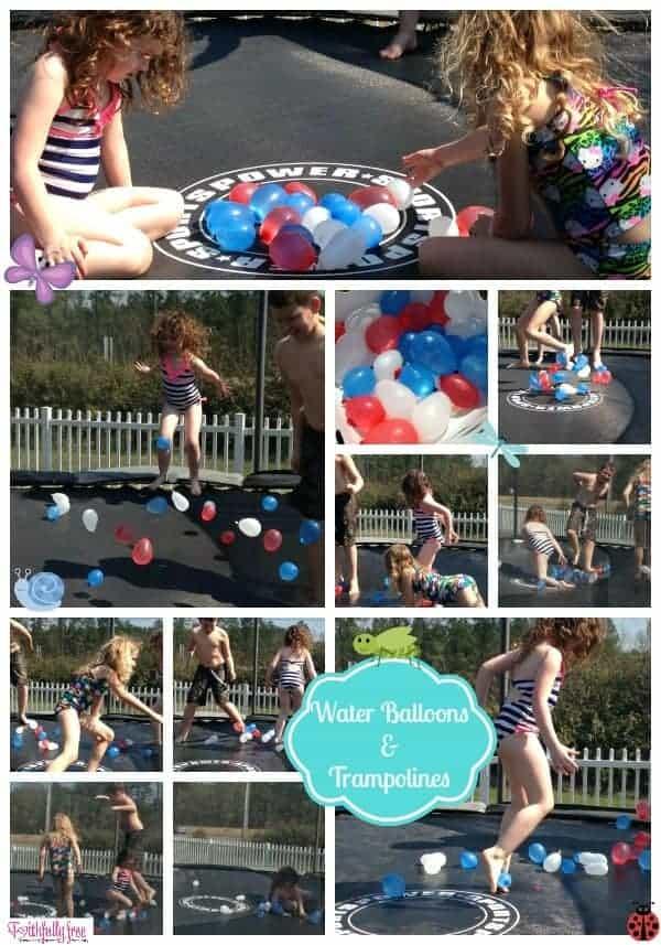 Trampoline-Water-Balloon-Games