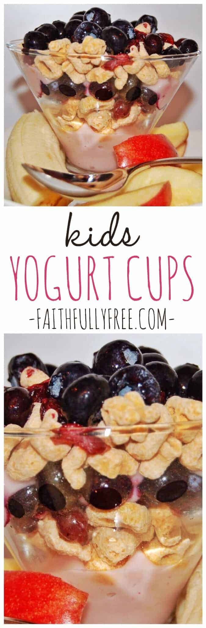 Kid's Yogurt Cups Recipe