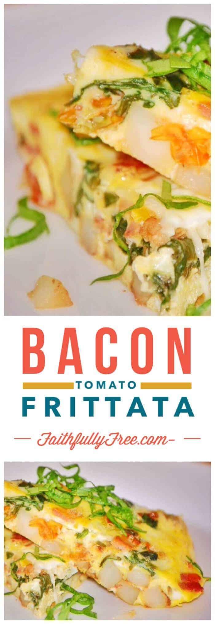 Bacon Tomato Frittata Recipe