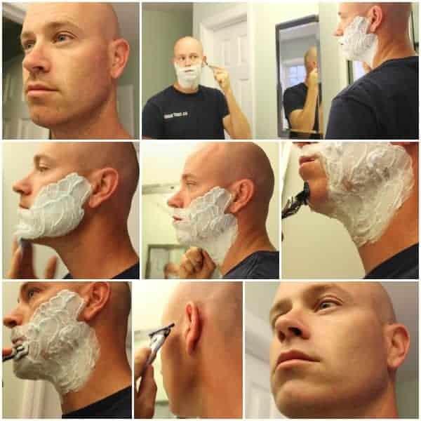 Gillette-Men-Shaving
