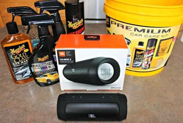 Holiday-Gift-Idea-For-Men-JBL Charge 2 Portable Speakers