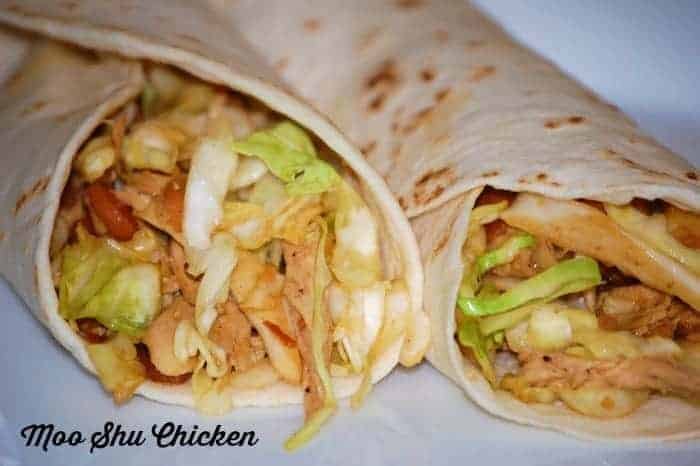 moo shu chicken wrap recipe
