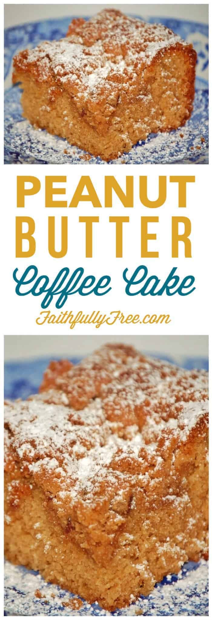 Peanut Butter Coffee Cake Recipe