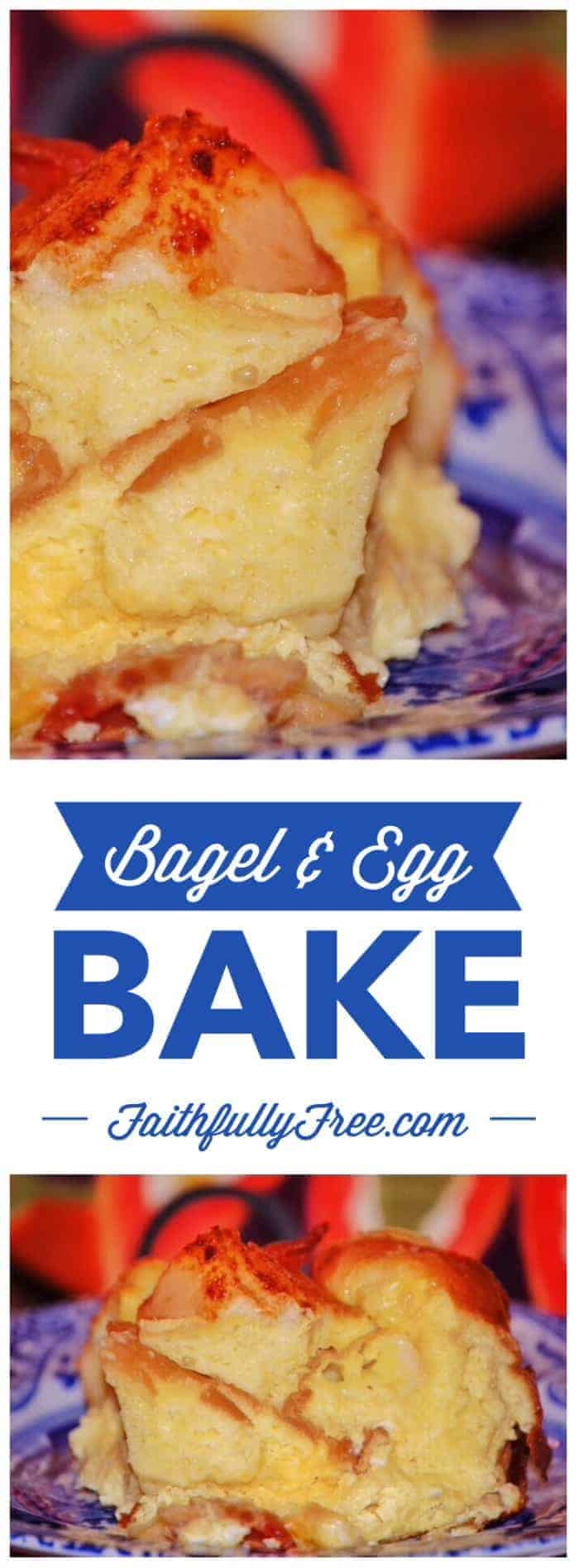 Amazing Bagel Egg Bake Recipe