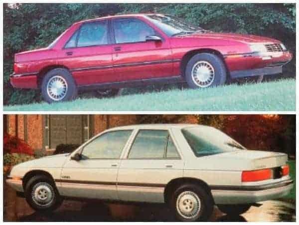 Chevrolet Corsica Memories