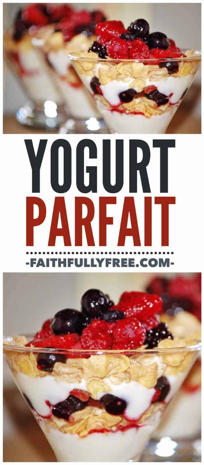 Yogurt Parfait Recipe