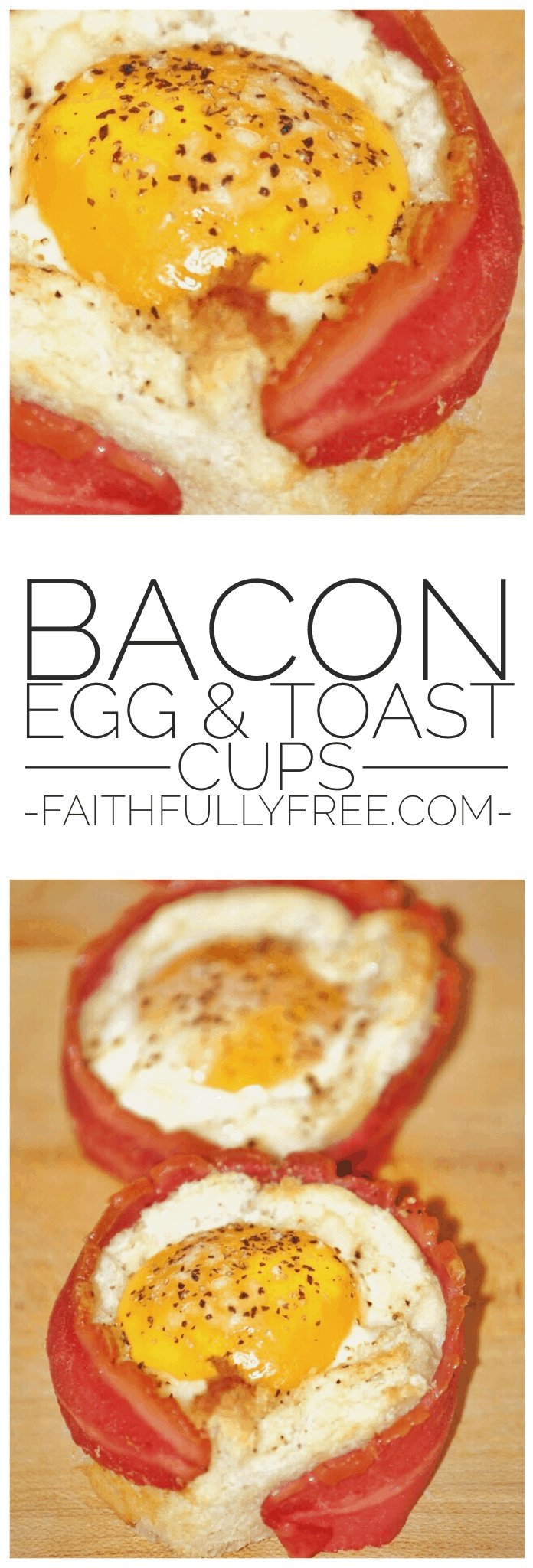 Bacon, Egg and Toast Cups Recipe