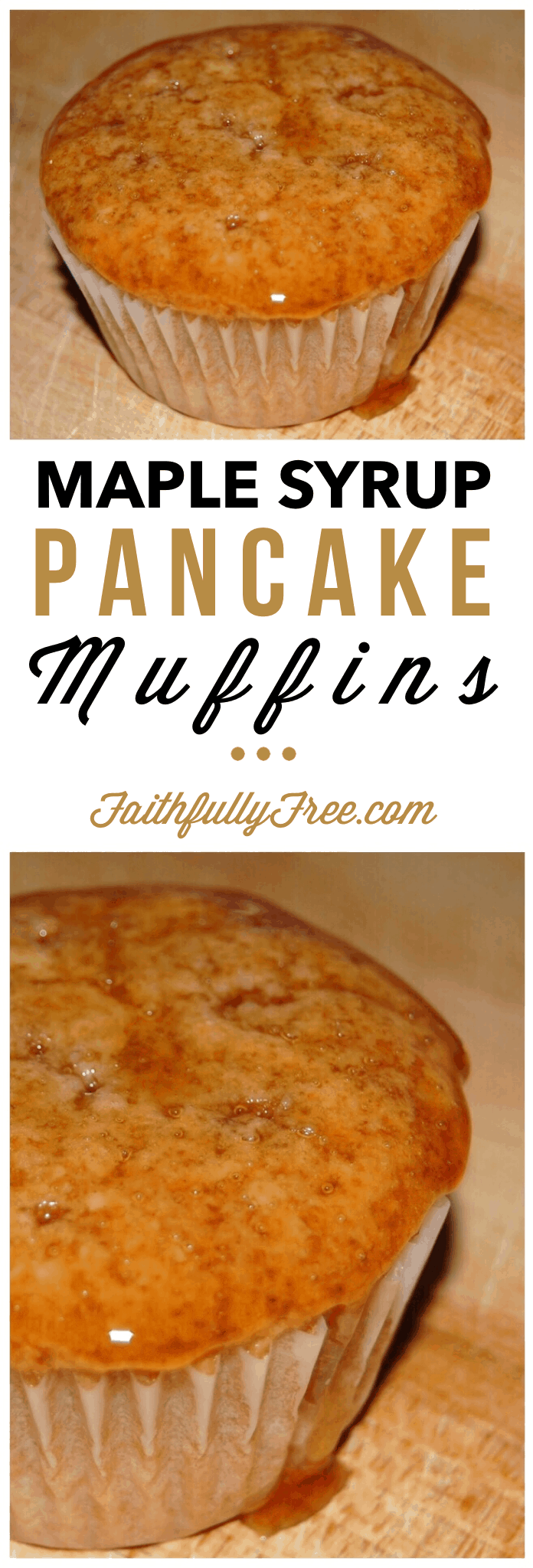 Maple Syrup Pancake Muffins Recipe