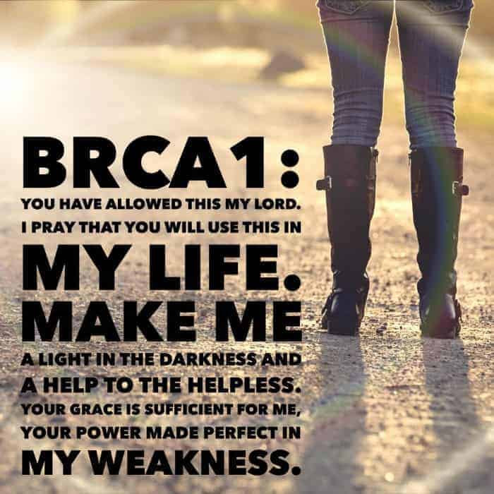 BRCA 1 Personal Stories