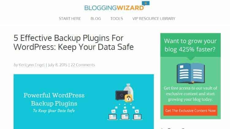 Backup-Plugins