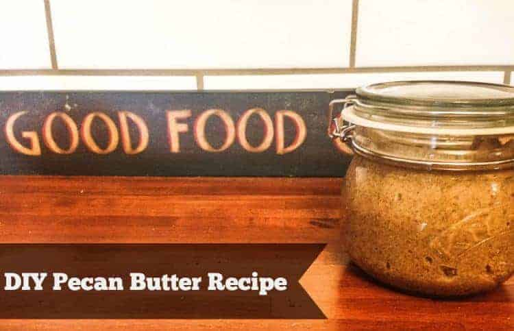 Today we are teaching you how to make pecan butter. It's simple and only requires two ingredients. Let's get to it!