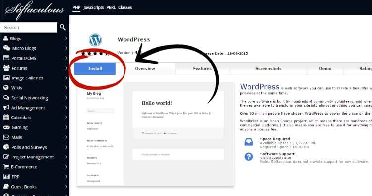 Download-Wordpress-cPanel