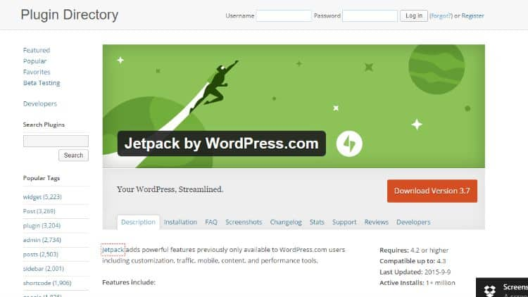 JetPack-By-Wordpress-Plugin