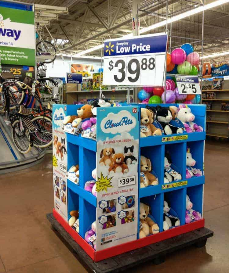 Walmart Cloud Pet Toys