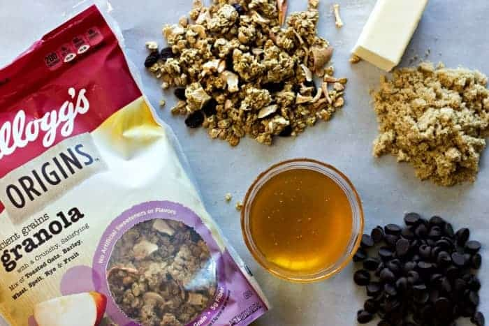Chocolate Raisin Apple Granola Bars Granola Bars Ingredients