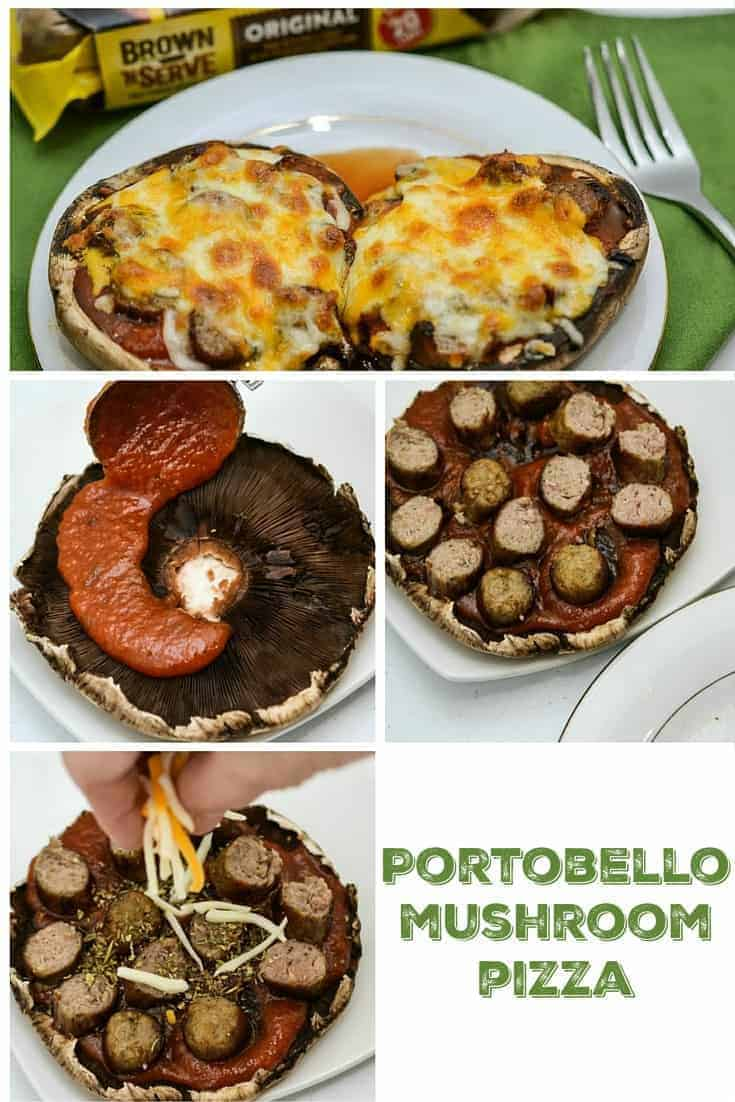Step by step portobello mushroom recipe