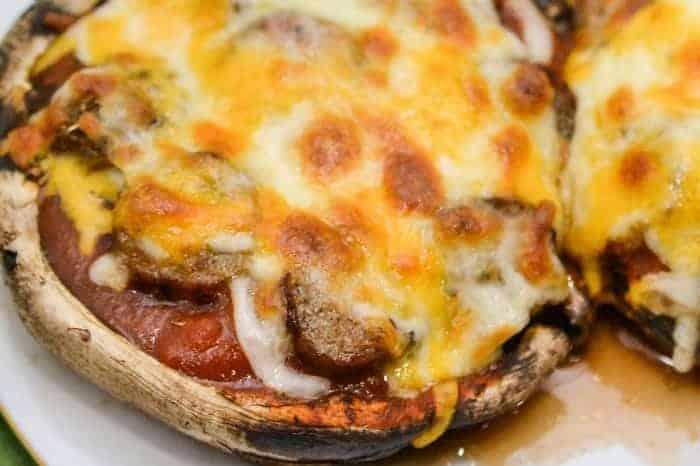 Portobello Mushroom Pizza Crust Recipe
