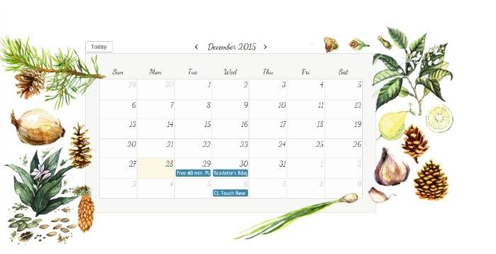 Beautiful Online Calendar Themes