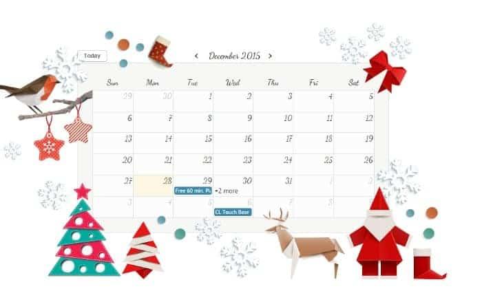 Easy Beautiful Online Calendars