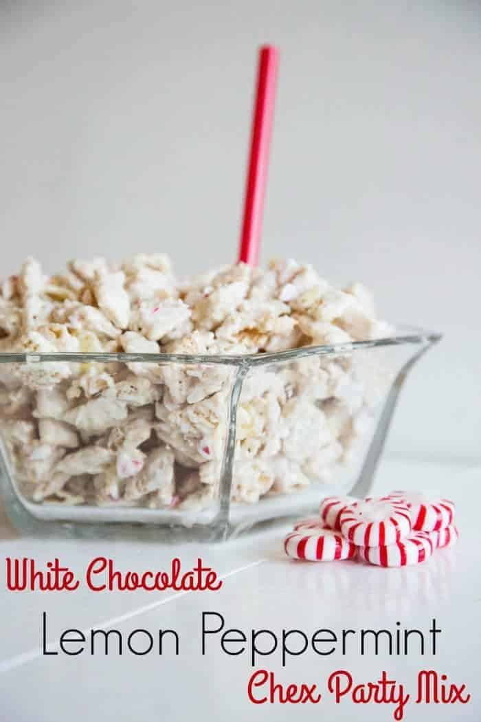Lemon Peppermint Party Mix