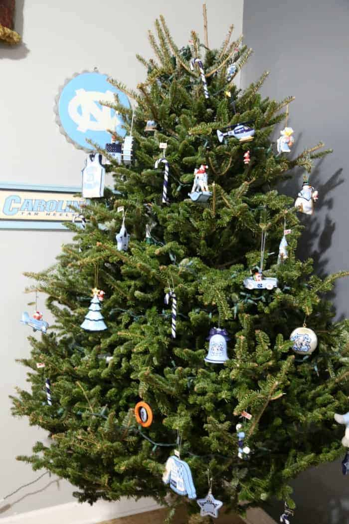 University Of North Carolina Christmas Tree