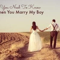 What You Need To Know When You Marry My Boy