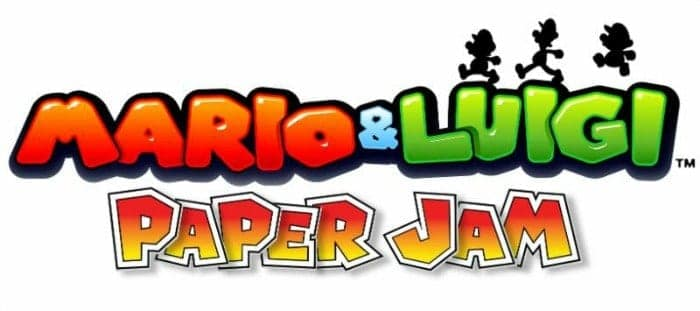 Mario & Luigi Paper Jam Nintendo 3DS Logo