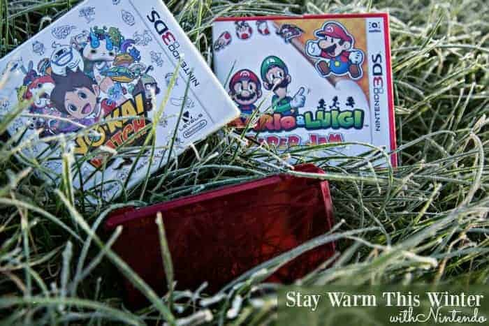 Stay Warm This Winter With Nintendo
