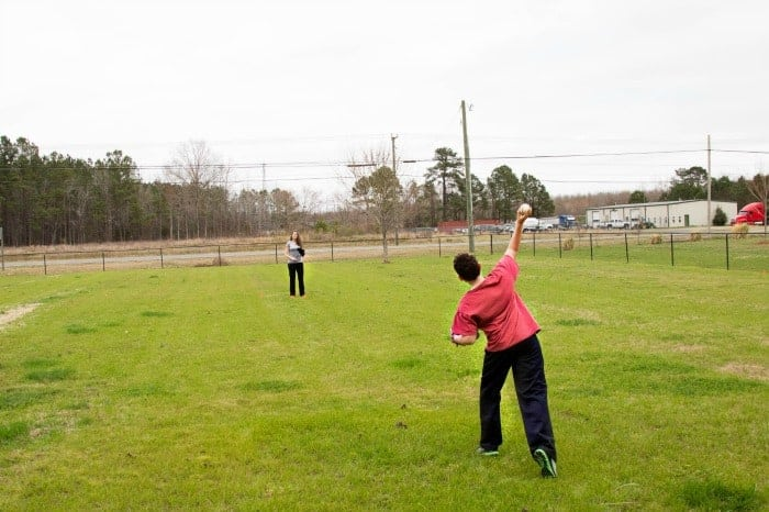 Baseball Throw