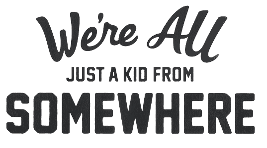 We're all just a kid from somewhere logo POWERADE