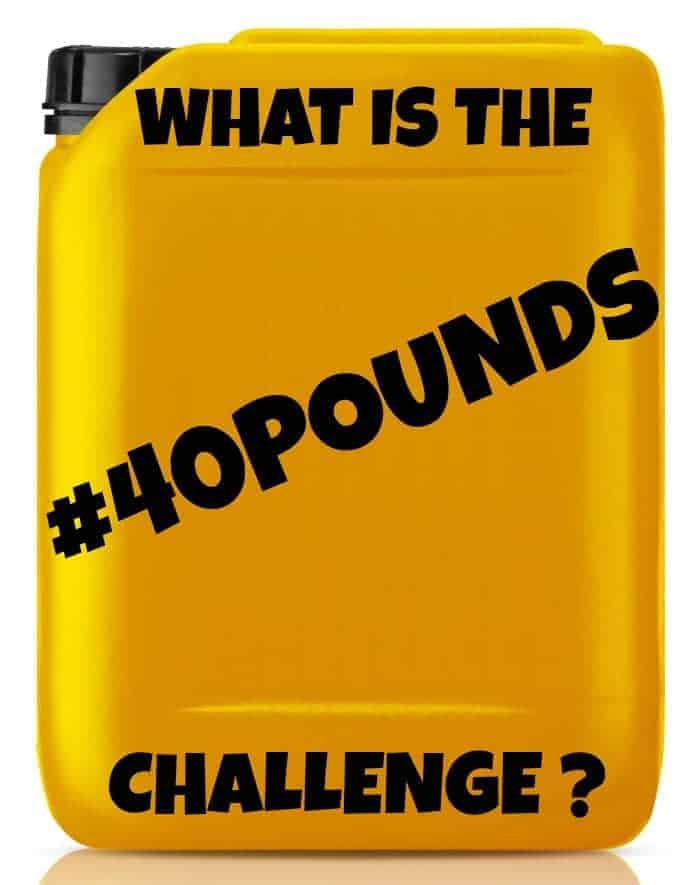 What is the #40pounds Challenge