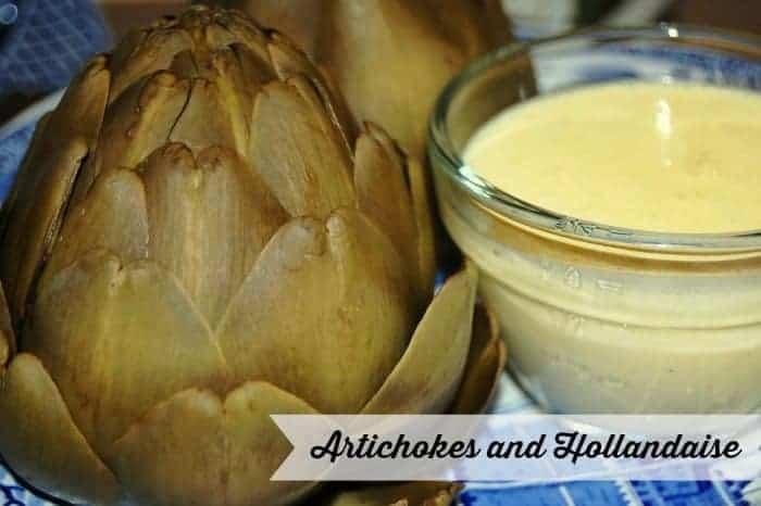 Artichokes and Hollandaise