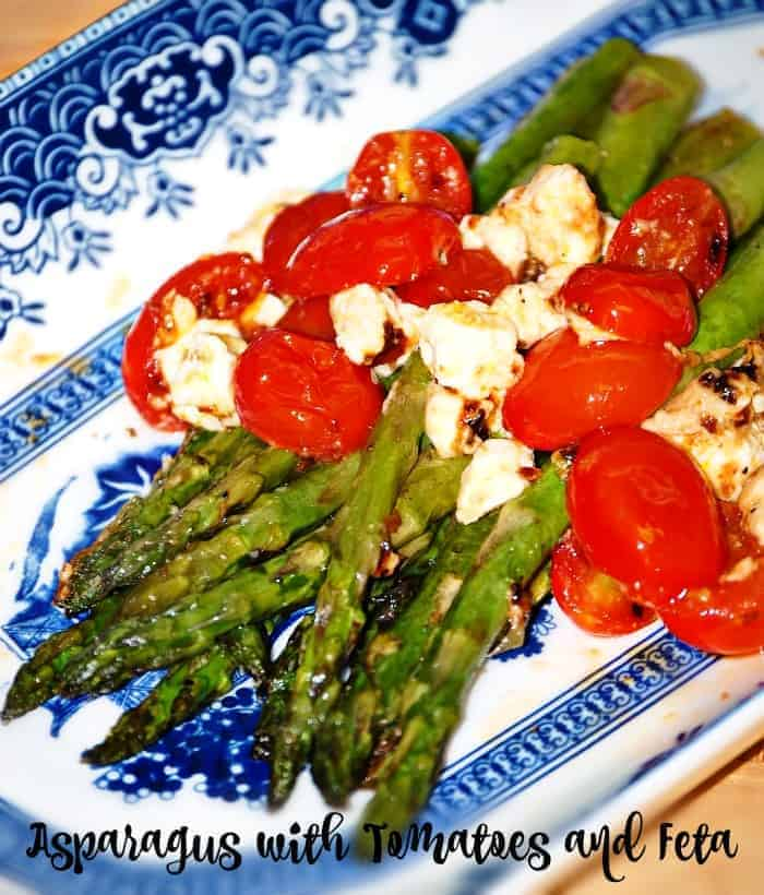 Asparagus with Tomatoes and Feta Recipe