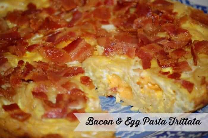 Bacon & Egg Pasta Frittata