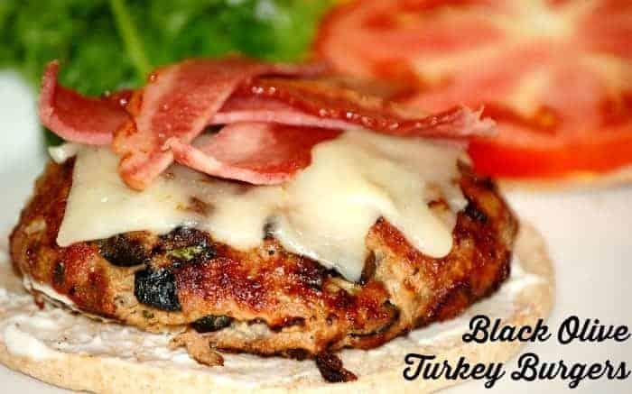 Black Olive Turkey Burgers