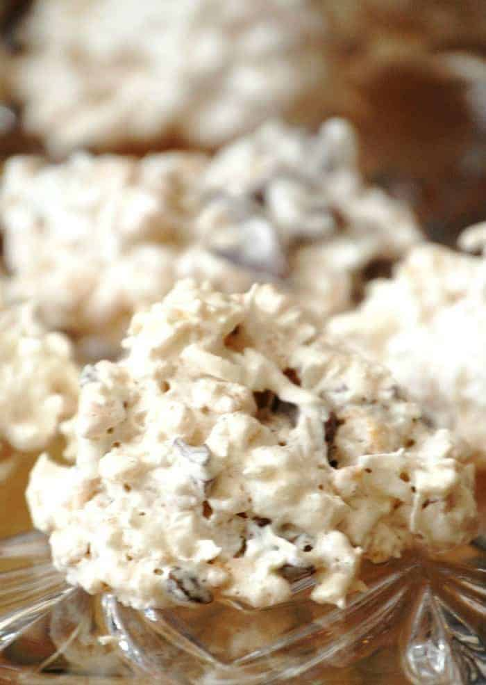 Coconut Snowball Crisps Recipe