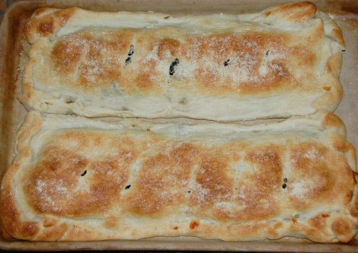 Italian Sausage Calzones Recipe