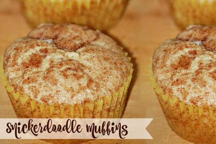Snickerdoodle Cookie Muffins